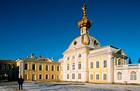 Summer Palace (1714-28) at Petrodvorets. St. Petersburg. Russia