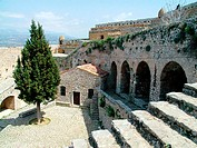Church of St. Andrew in the Palamidi castle. Nafplion. Argolis, Peloponnese. Greece
