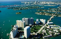 Biscayne Bay. Miami. Florida. USA