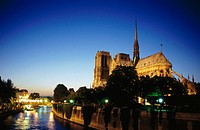 Notre Dame cathedral. Paris. France