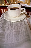 Coffee and newspaper (thumbnail)