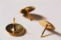 Brass drawing pins