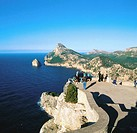Cape of Formentor. Majorca. Balearic Islands. Spain