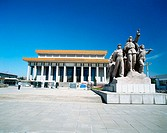 Memorial Hall of Chairman Mao. Beijing. China. China