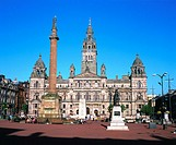 City Chambers. George Square. Glasgow. Scotland