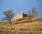Hume Castle, near Kelso. Scottish Borders. Scotland