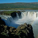 Godafoss Waterfall. Iceland