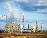 Petrochemical complex. Fife. Scotland