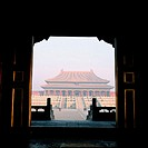 The Supreme Harmony Hall. Imperial Palace. Beijing. China