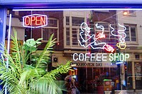Coffee shop. Amsterdam. Holland