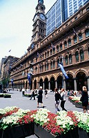 Restored General Post Office building in Martin Place. Sydney. Australia