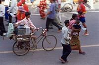 Phnom Penh, Street Scene, Cambodia