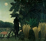 The Snake Charmer 1907 Henri Rousseau (1844-1910/French). Oil on canvas Muse d´ Orsay, Paris