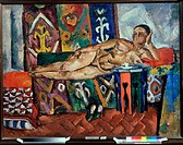 Sheherazad 1917 Pëtr Petrovic Koncalovskij (1876-1955/Russian). Oil on canvas Tula Regional Art Museum, Russia