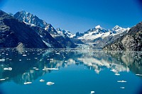 Johns Hopkins Inlet Glacier Bay National Park and Preserve Alaska USA