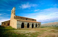 Nuestra Señora de Tiermes, Romanesque church (built 12th century). Soria province. Spain