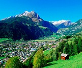 Village of Matrei in East Tyrol. Austria