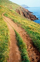 Coastal path. Wales. UK