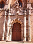 Main gate of San Juan de los Reyes monastery. Toledo. Spain