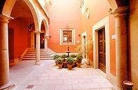 ´Parador Nacional de Caceres´. Extremadura. Spain