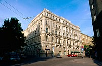 Art-nouveau building (19th-20th centuries). Riga. Latvia