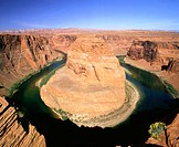 Horseshoe Bend in Colorado River. Arizona. USA