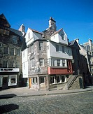 John Knox's House, Royal Mile. Edinburgh. Scotland (thumbnail)