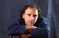 Mauro Covacich, Italian writer. 1995