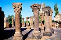 Zvartnots. Armenia