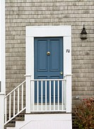 Door. Nantucket. Massachusetts. USA