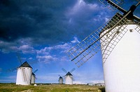 Windmills. Campo de Criptana. Ciudad Real. Spain
