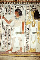 Tomb of Sennefer. Valley of the Nobles. West Bank. Luxor. High Egypt. Egypt