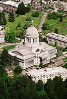 The State Capitol in Olympia, Washington was inspired by Greek architecture and the capitol in Washington DC. The dome (287 feet) is one of the larges...