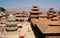 Royal Palace in Durbar Square, Patan. Nepal