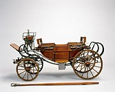 Model (scale 1:6). This carriage took its name from the German town of Landau, and was popular during the mid 18th century. They were a very popular f...