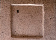 Raised square tile, close-up, full frame (thumbnail)