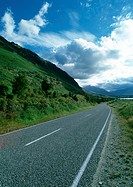 New Zealand, rural road