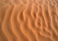 Tunisia, Sahara Desert, ripples in sand