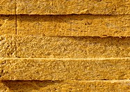 Glass wool, close-up, fool frame