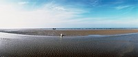 France, seascape, panoramic view