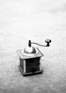Coffee grinder, b&w