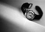 Wrist watch, b&w