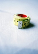 Measuring tape, close-up, blurred (thumbnail)