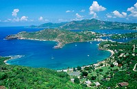 English harbour. Antigua. West Indies. Caribbean