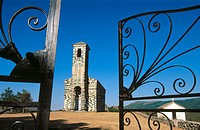 San Michele Murato church in Corsica Island. France