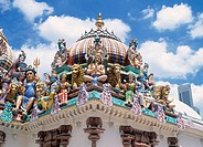 Sri Mariamman Temple China Town Singapore