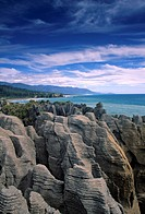 Pancake Rocks Punakaiki West Coast New Zealand