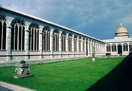 Cemetery cloister of cathedral. Pisa. Tuscany, Italy