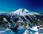 Mount Bachelor Ski Area. Deschutes National Forest. Bend. Oregon. USA