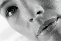 Close-up of a woman's face (thumbnail)